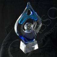 Victory2 Crystal Art Statue